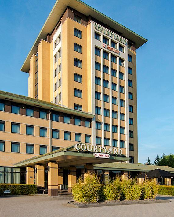 Aanzicht hotel